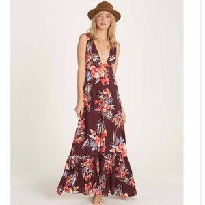 BILLABONG Floral Printed Maxi Dress